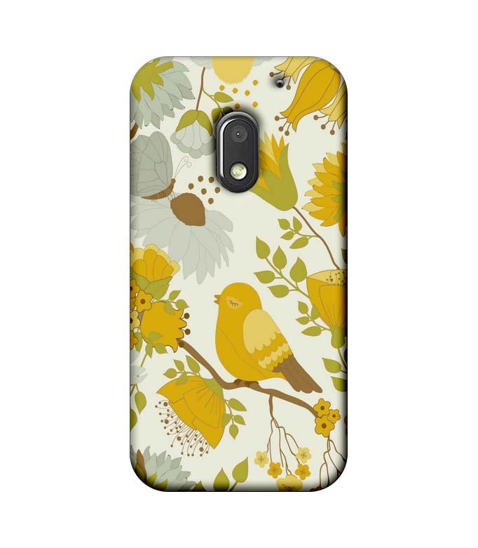 Motorola Moto E3 Power Mobile Cover Printed Designer Case Bird Art