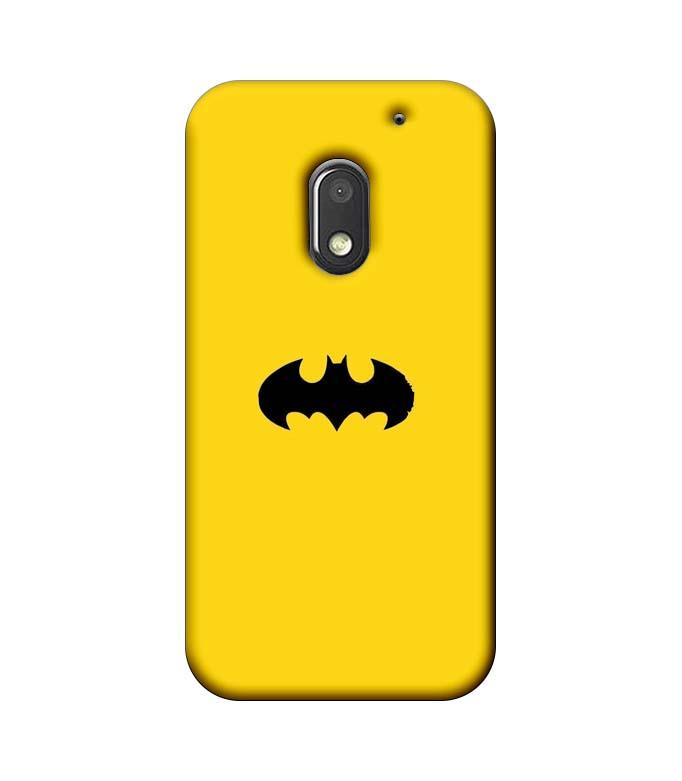 Motorola Moto E3 Power Mobile Cover Printed Designer Case Batman Logo