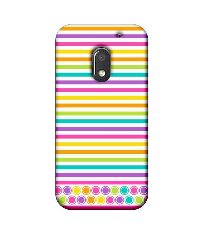 Motorola Moto E3 Power Mobile Cover Printed Designer Case Stripes Pattern Three