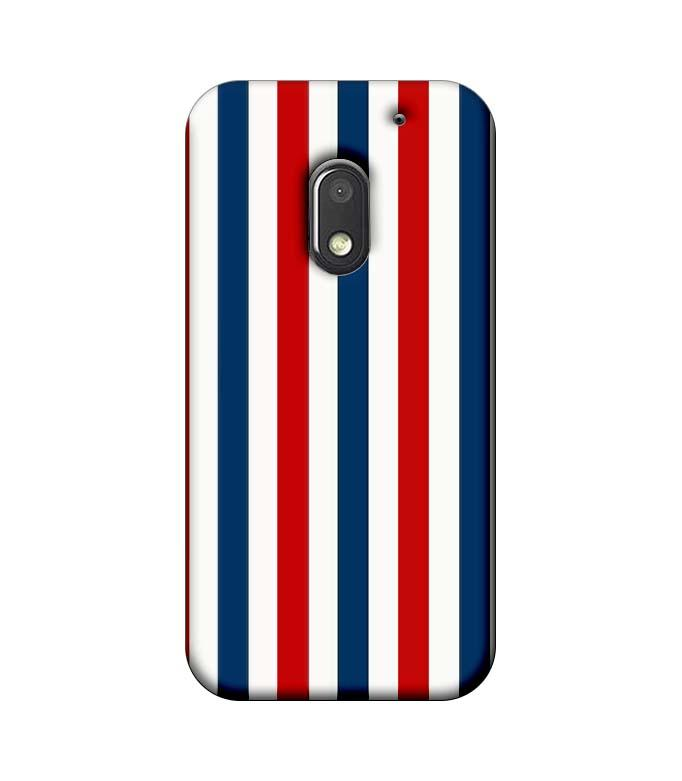 Motorola Moto E3 Power Mobile Cover Printed Designer Case Blue and Red Stripes