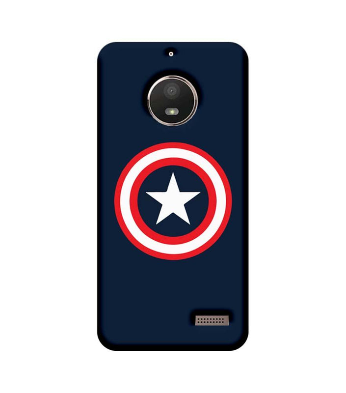 Motorola Moto E4 Mobile Cover Printed Designer Case Captain America illustration