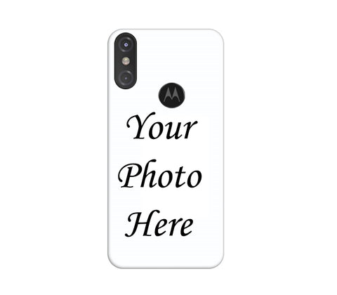 Motorola One Power Back Cover Personalised Printed Case