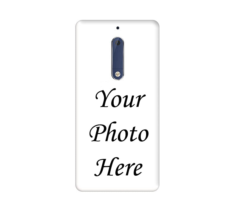 Nokia 5 Back Cover Personalised Printed Case
