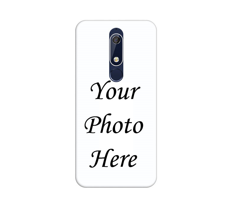 Nokia 5.1 Plus Back Cover Personalised Printed Case - www.crazywears.in