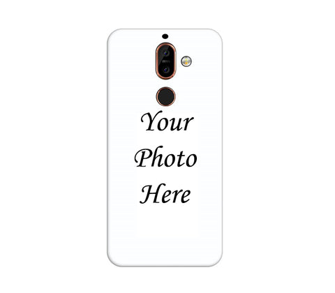Nokia 7 Plus Back Cover Personalised Printed Case - www.crazywears.in