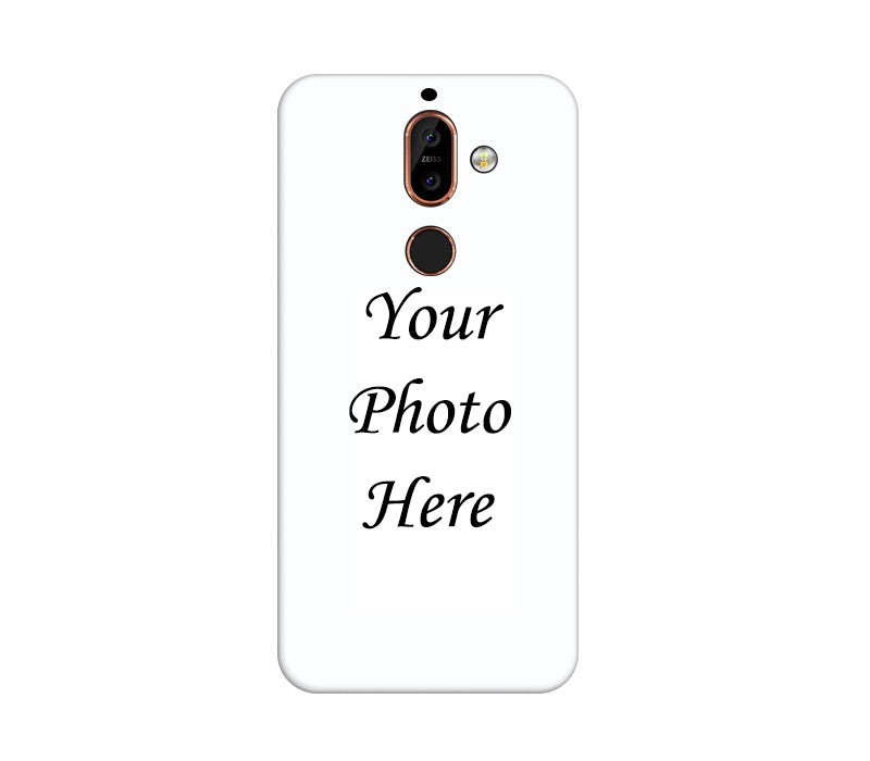Nokia 7 Plus Back Cover Personalised Printed Case