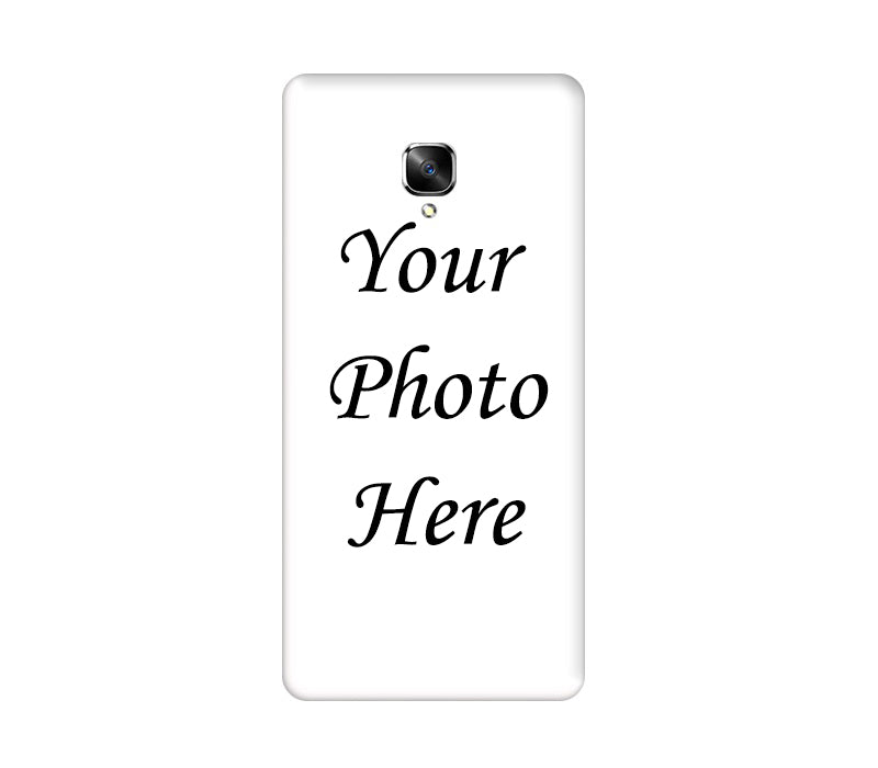 OnePlus 3 / 3T Back Cover Personalised Printed Case