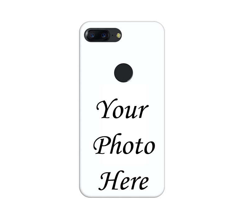 OnePlus 5T Back Cover Personalised Printed Case