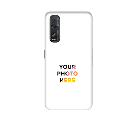 Oppo Find X2 Back Cover Personalised Printed Case