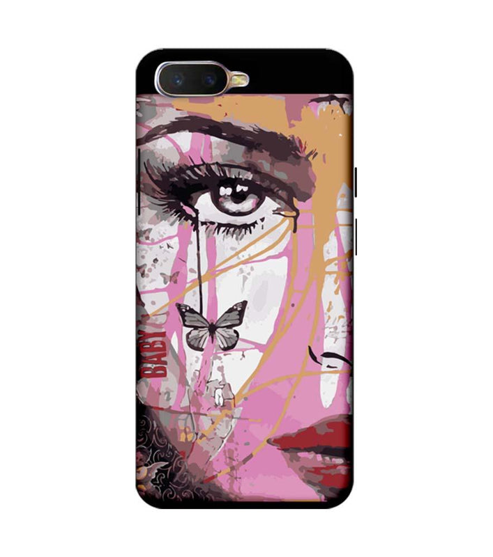 Oppo K1 Mobile Cover Printed Designer Case Baby Art