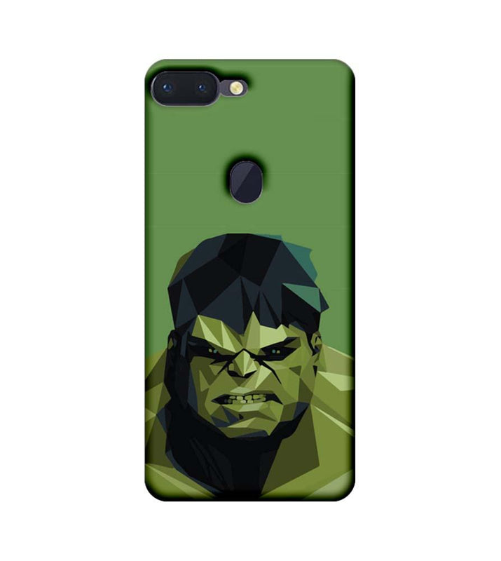 Oppo R15 Pro Mobile Cover Printed Designer Case Angry Hulk