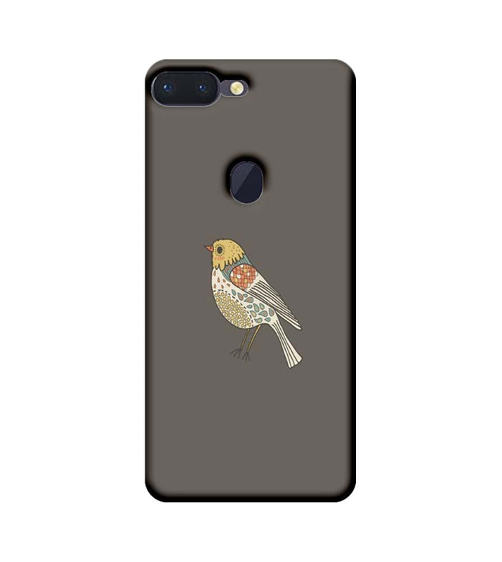 Oppo R15 Pro Mobile Cover Printed Designer Case Bird Art