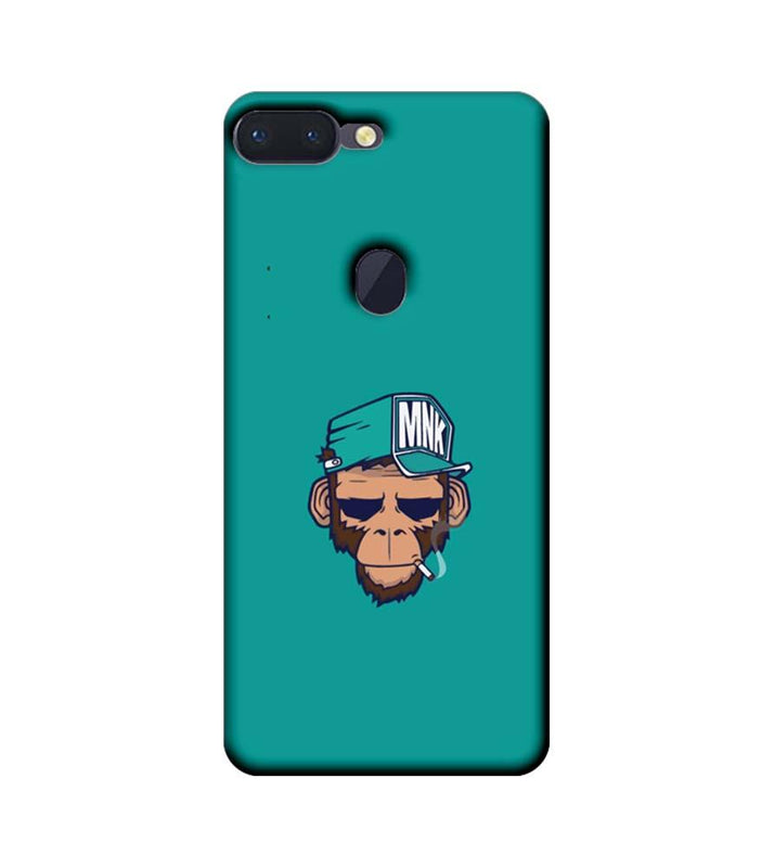 Oppo R15 Pro Mobile Cover Printed Designer Case Smoking Monkey