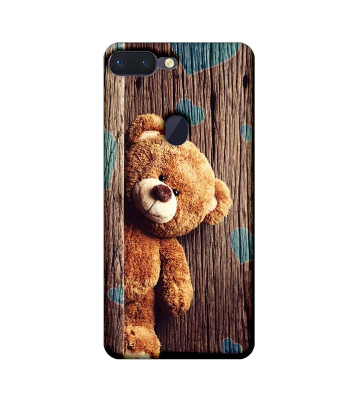 Oppo R15 Pro Mobile Cover Printed Designer Case Teddy Bear