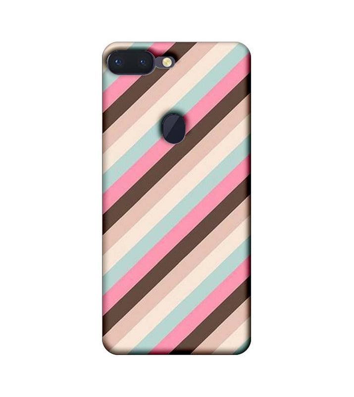 Oppo R15 Pro Mobile Cover Printed Designer Case Multi Stripe