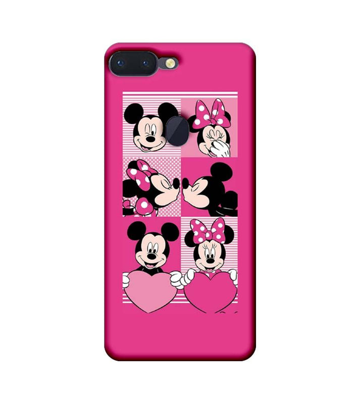 Oppo R15 Pro Mobile Cover Printed Designer Case Mickey Mouses