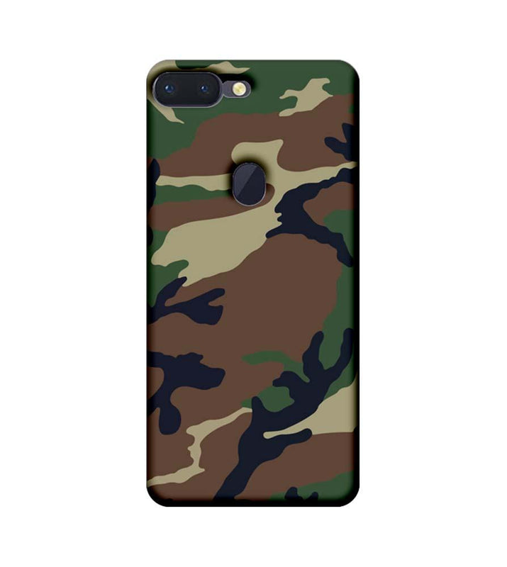 Oppo R15 Pro Mobile Cover Printed Designer Case Military Pattern One
