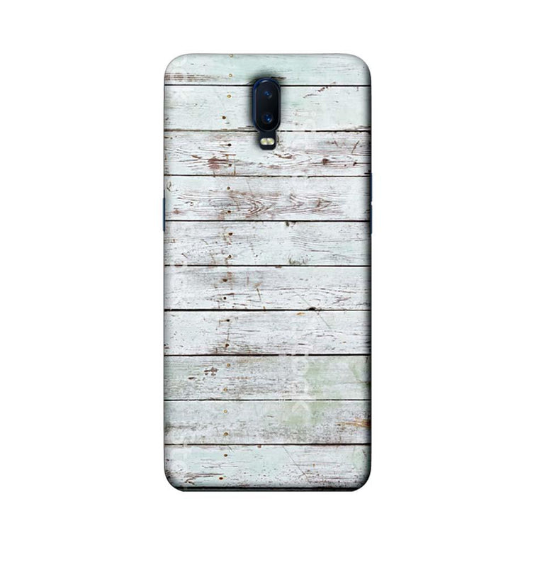Oppo R17 Mobile Cover Printed Designer Case White Wood