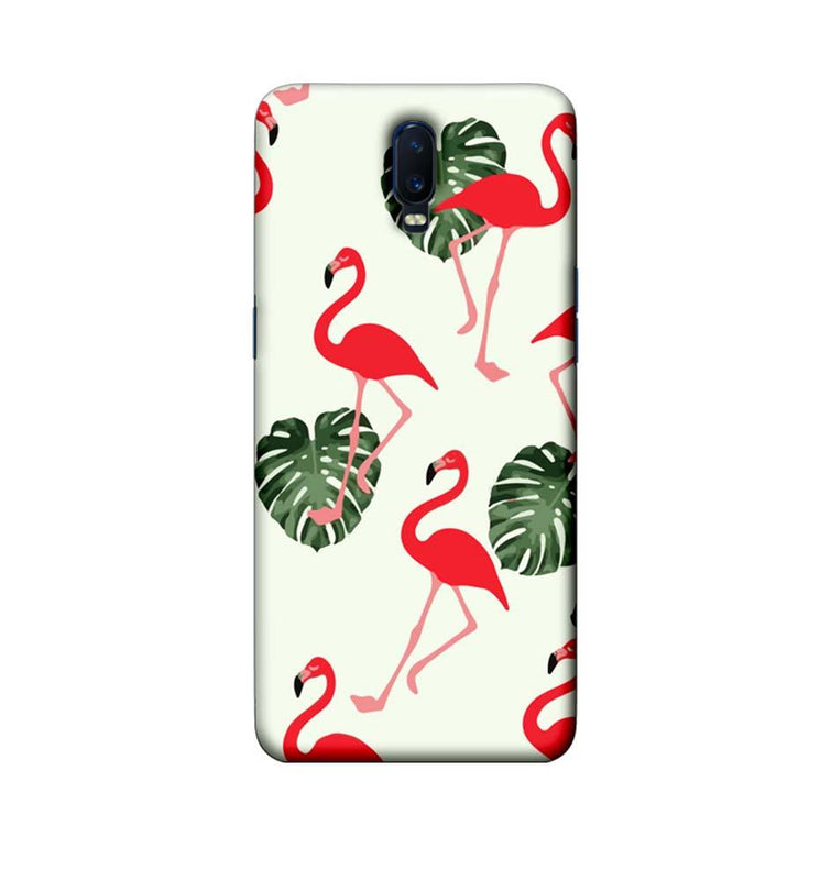 Oppo R17 Mobile Cover Printed Designer Case Flamingo