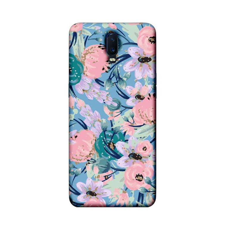 Oppo R17 Mobile Cover Printed Designer Case Cherry Flower