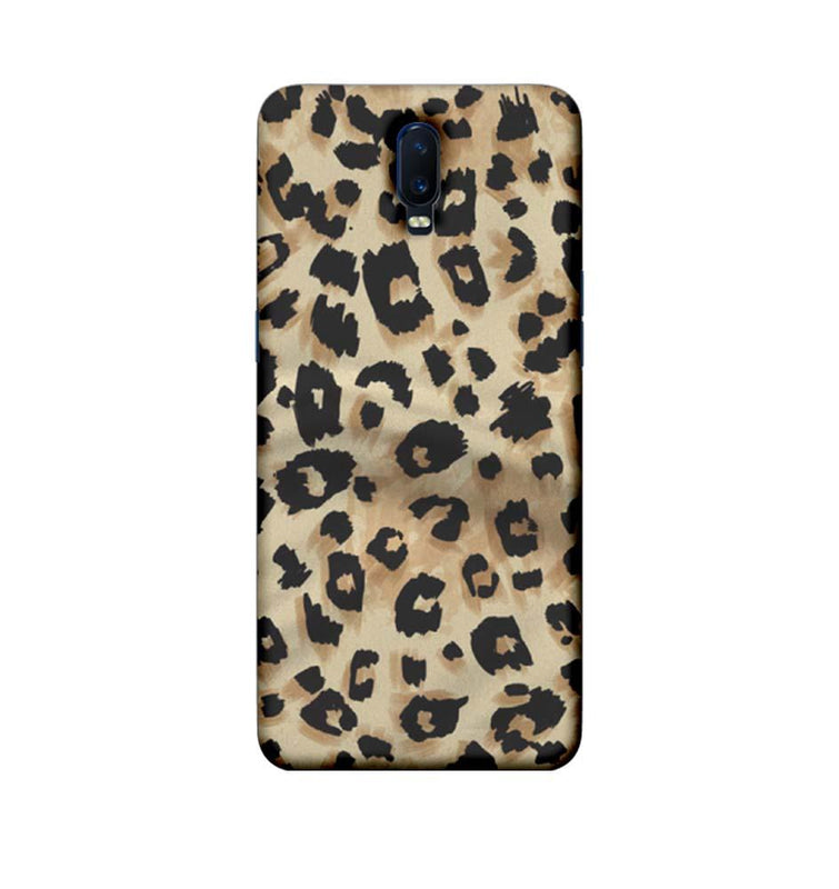 Oppo R17 Mobile Cover Printed Designer Case Cheetah Patern