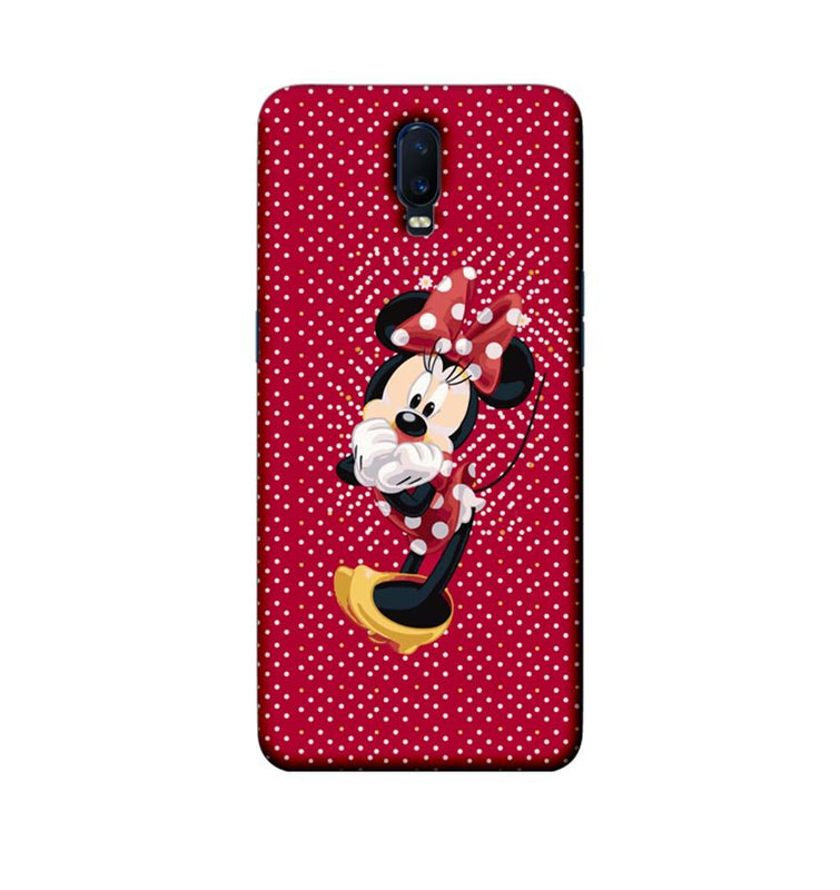 Oppo R17 Mobile Cover Printed Designer Case Mickey Mouse