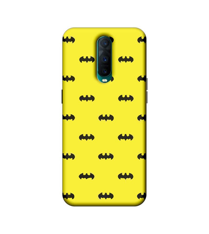 Oppo R17 Pro Mobile Cover Printed Designer Case Multi Batman