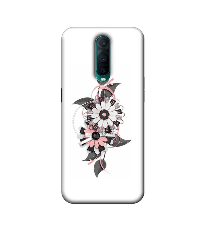 Oppo R17 Pro Mobile Cover Printed Designer Case Floral Pattern