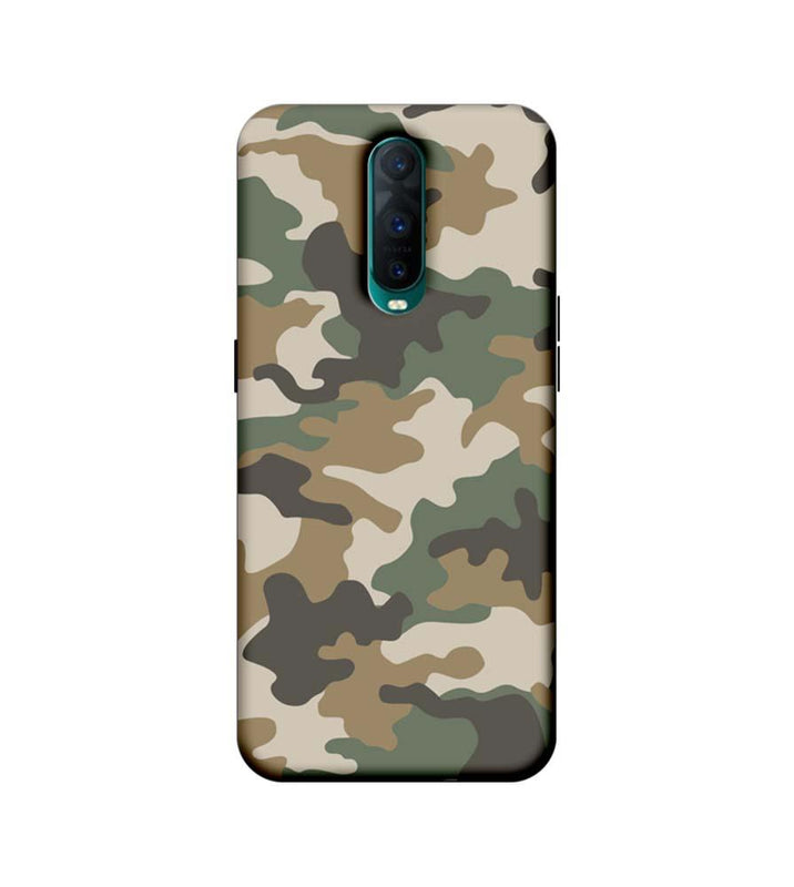 Oppo R17 Pro Mobile Cover Printed Designer Case Military Pattern