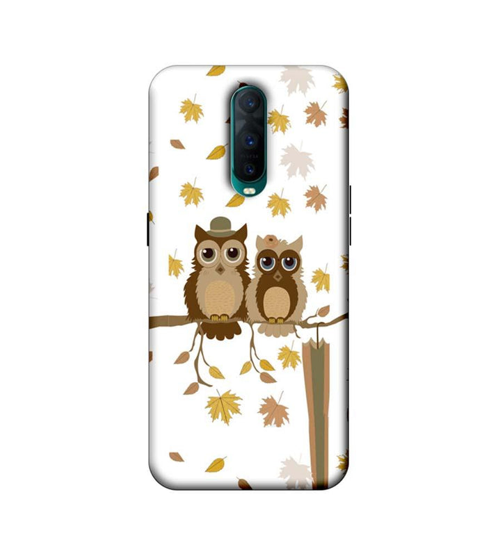 Oppo R17 Pro Mobile Cover Printed Designer Case Owls