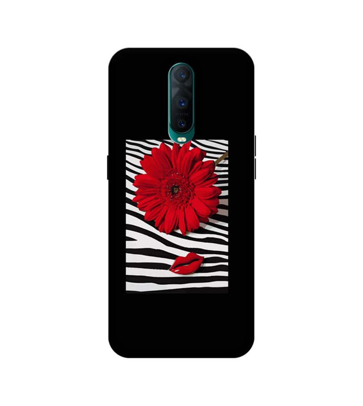 Oppo R17 Pro Mobile Cover Printed Designer Case Red Floral