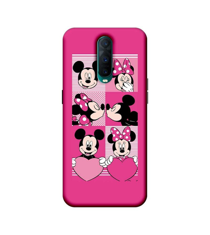 Oppo R17 Pro Mobile Cover Printed Designer Case Mickey Mouses