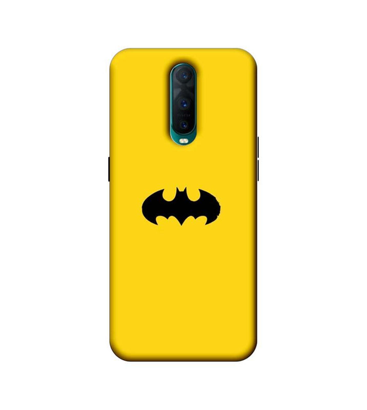 Oppo R17 Pro Mobile Cover Printed Designer Case Batman Logo