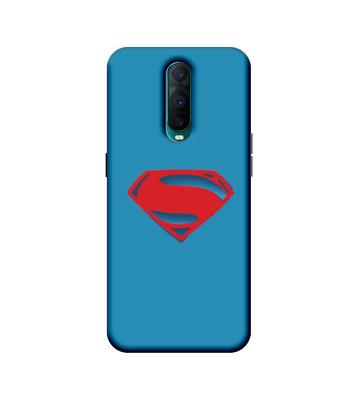 Oppo R17 Pro Mobile Cover Printed Designer Case Superman Logo 2.0