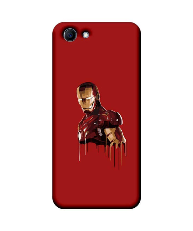 Oppo Real Me 1 Mobile Cover Printed Designer Case Ironman