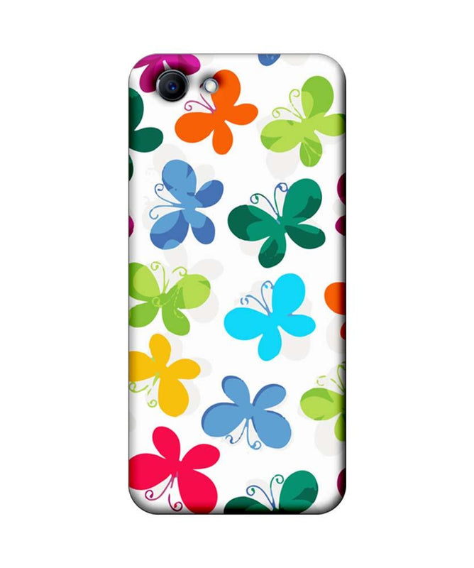 Oppo Real Me 1 Mobile Cover Printed Designer Case Butterfly illustration