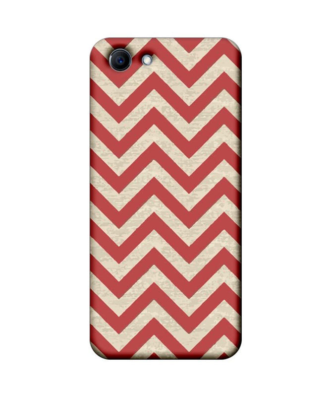 Oppo Real Me 1 Mobile Cover Printed Designer Case Zigzag Stripes