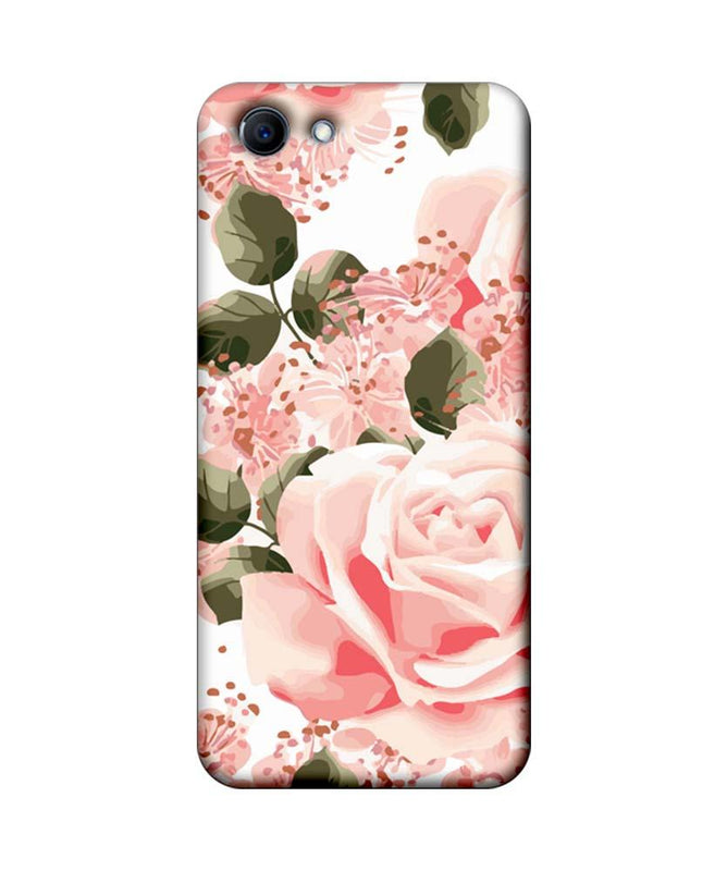 Oppo Real Me 1 Mobile Cover Printed Designer Case Pink Rose
