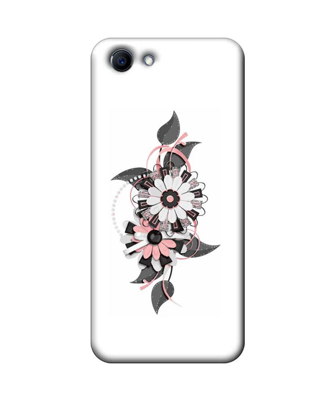 Oppo Real Me 1 Mobile Cover Printed Designer Case Floral Pattern