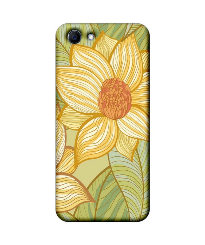 Oppo Real Me 1 Mobile Cover Printed Designer Case Floral Art