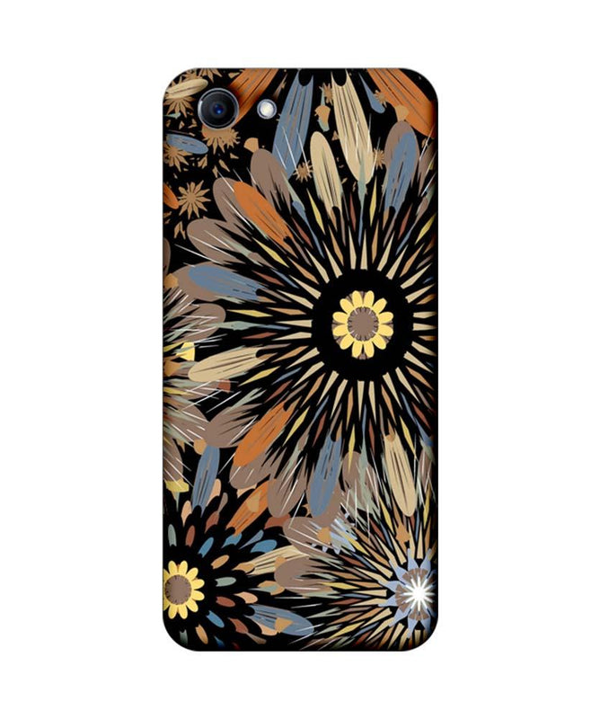 Oppo Real Me 1 Mobile Cover Printed Designer Case Floral Art 2.0