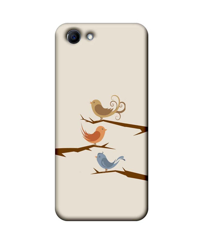 Oppo Real Me 1 Mobile Cover Printed Designer Case Three Birds