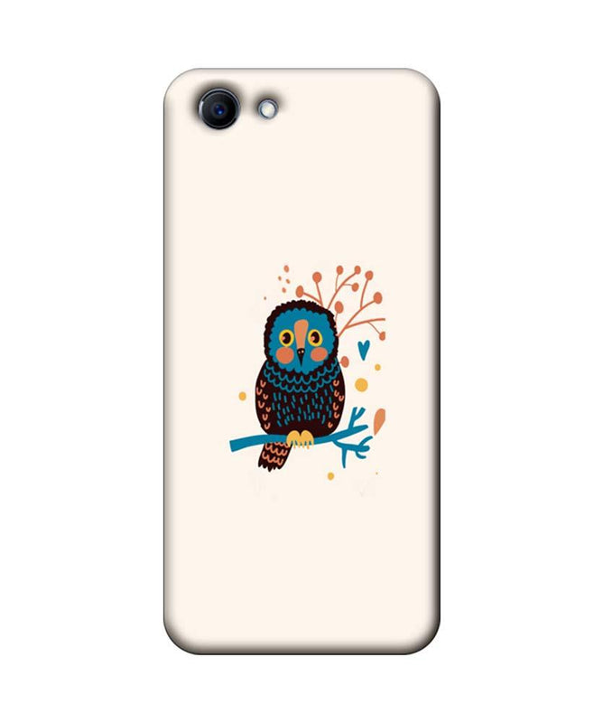 Oppo Real Me 1 Mobile Cover Printed Designer Case colourful owl