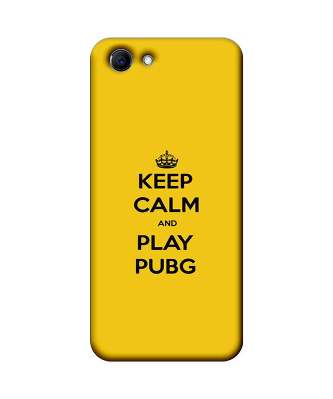 Oppo Real Me 1 Mobile Cover Printed Designer Case Keep Calm and Play PUBG