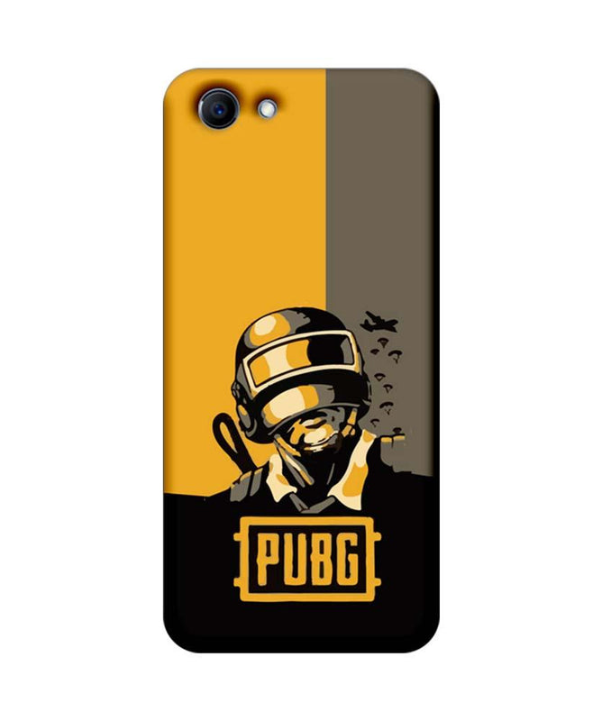 Oppo Real Me 1 Mobile Cover Printed Designer Case PUBG