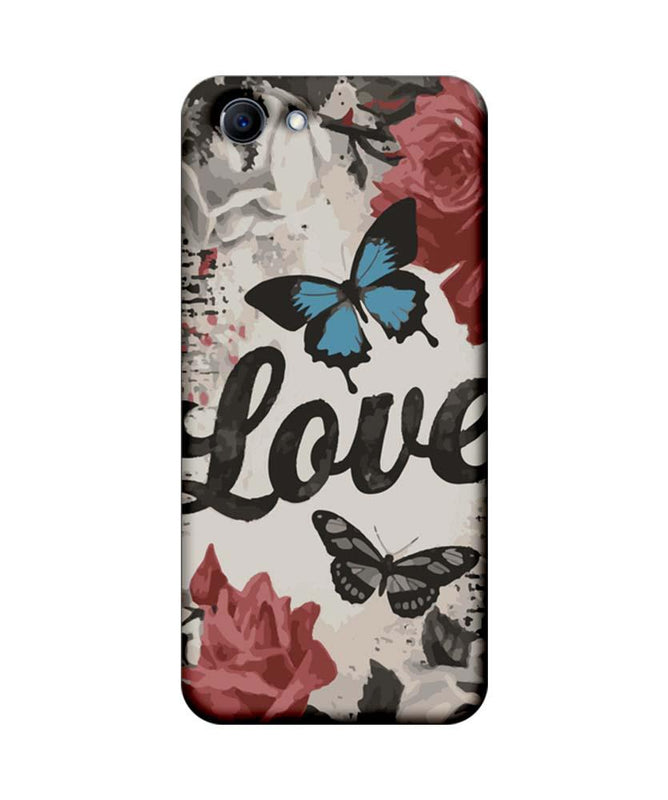 Oppo Real Me 1 Mobile Cover Printed Designer Case Love