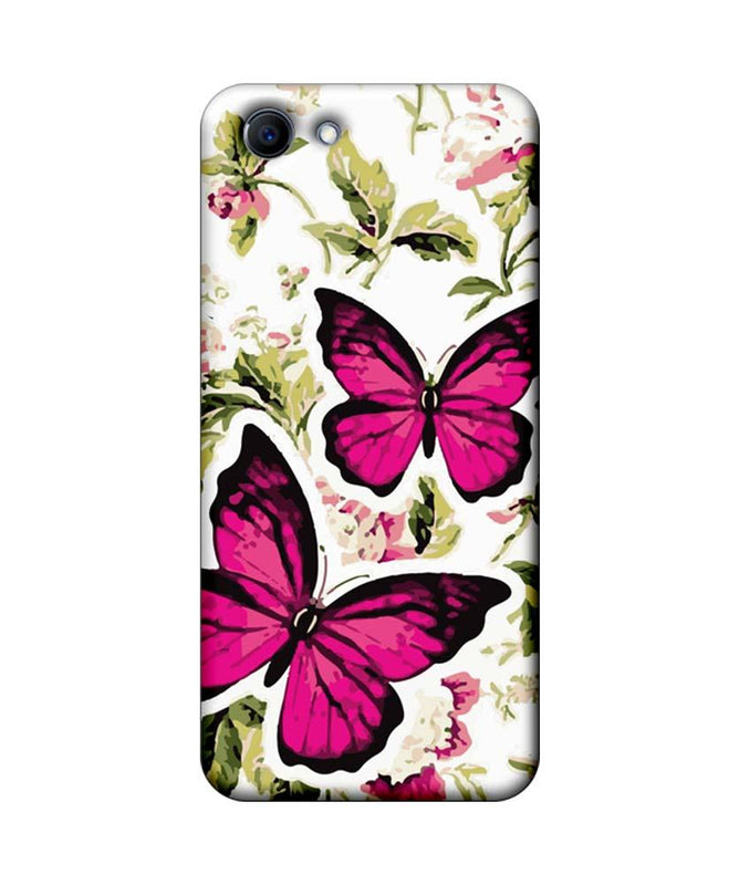 Oppo Real Me 1 Mobile Cover Printed Designer Case Butterflies Art