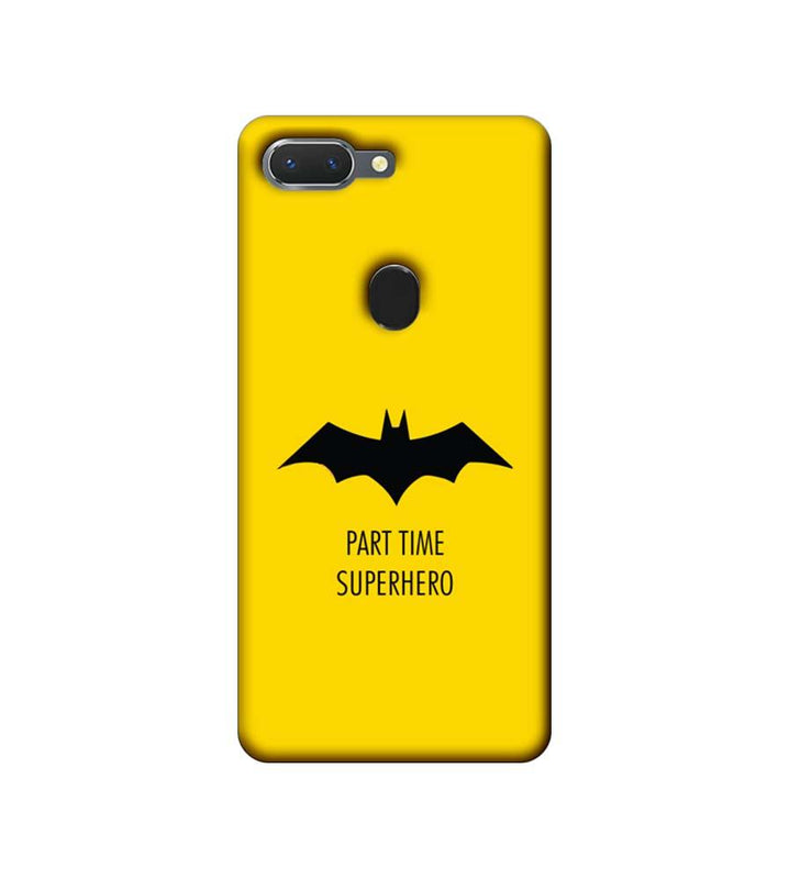 Oppo Realme 2 Mobile Cover Printed Designer Case Batman Logo