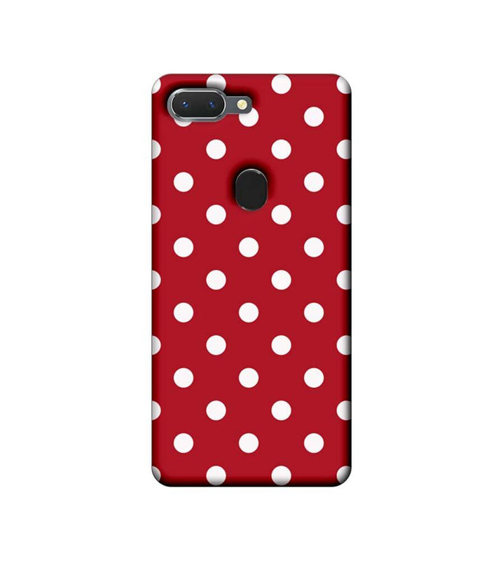 Oppo Realme 2 Mobile Cover Printed Designer Case Marron Polka Dots