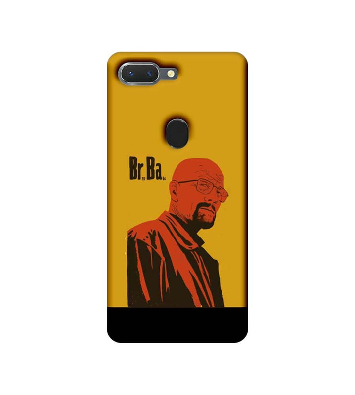Oppo Realme 2 Mobile Cover Printed Designer Case Breaking Bad